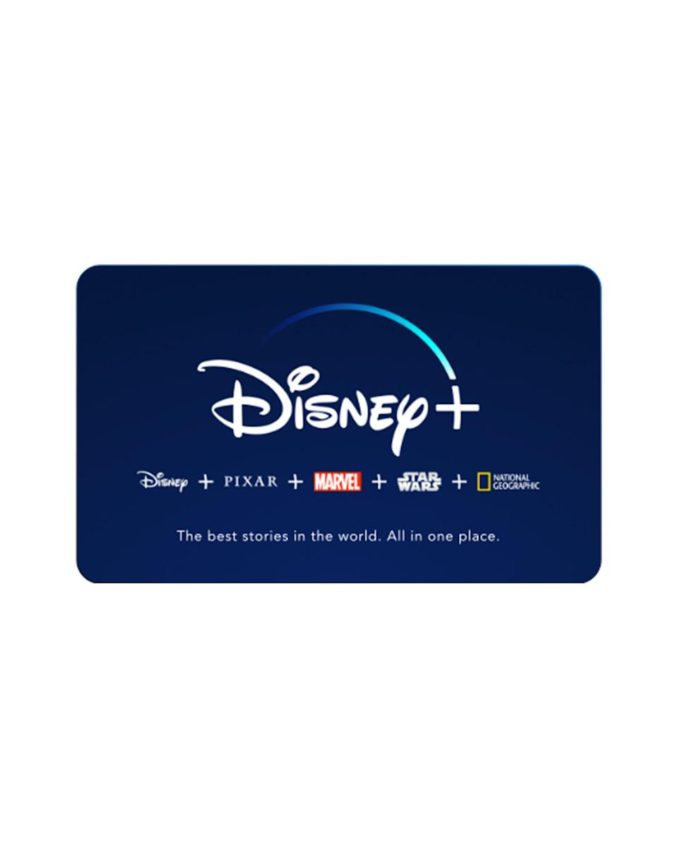 """<p><strong>Disney +</strong></p><p><strong>$6.99</strong></p><p><a href=""""https://go.redirectingat.com?id=74968X1596630&url=https%3A%2F%2Fwww.disneyplus.com%2F&sref=https%3A%2F%2Fwww.cosmopolitan.com%2Fstyle-beauty%2Ffashion%2Fg33379776%2Fbest-online-gifts%2F"""" rel=""""nofollow noopener"""" target=""""_blank"""" data-ylk=""""slk:Shop Now"""" class=""""link rapid-noclick-resp"""">Shop Now</a></p><p>You know that new Beyoncé special will premiere on Disney+ at the end of the month. So if they're in the Beyhive or just love all of the Disney franchises, you might as well treat them to the new streaming service.</p>"""