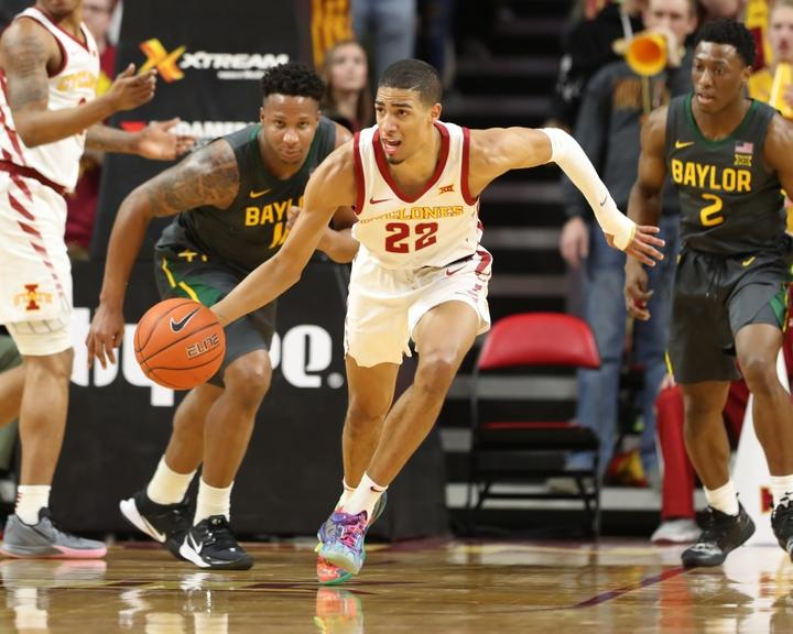 Tyrese Haliburton at Iowa State
