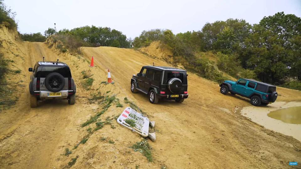 Land Rover Vs Wrangler And G-Class Off-Road