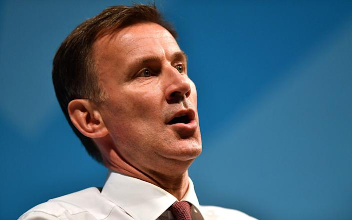 Jeremy Hunt is 'hugely capable', says David Cameron - PA
