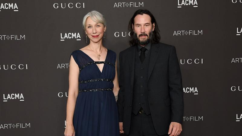 Keanu Reeves' Girlfriend Alexandra Grant Explains Why She Doesn't Dye Gray Hair