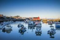 """<p>Of all the charming structures and beautiful landscapes in the tiny coastal village of Rockport, this little red fish shack is perhaps the most well-known. Known as <a href=""""http://www.rockportusa.com/motif-number-1.cfm"""" rel=""""nofollow noopener"""" target=""""_blank"""" data-ylk=""""slk:Motif No. 1"""" class=""""link rapid-noclick-resp"""">Motif No. 1</a> since early 20th-century illustrator Lester Hornby deemed it so, the building has been recreated by several artists. </p><p><em><a href=""""http://www.housebeautiful.com/lifestyle/g3457/most-beautiful-places-in-the-world/"""" rel=""""nofollow noopener"""" target=""""_blank"""" data-ylk=""""slk:See more of the most beautiful places in the world."""" class=""""link rapid-noclick-resp"""">See more of the most beautiful places in the world.</a></em><br></p>"""