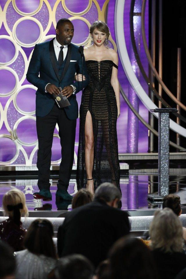 Taylor Swift Idris Elba Golden Globes 2019