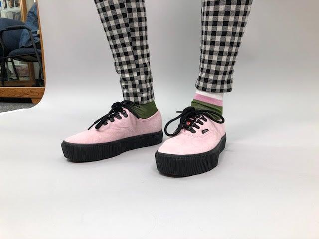 """<p>""""She has the best Vans closet you've ever seen in the world!"""" </p>"""