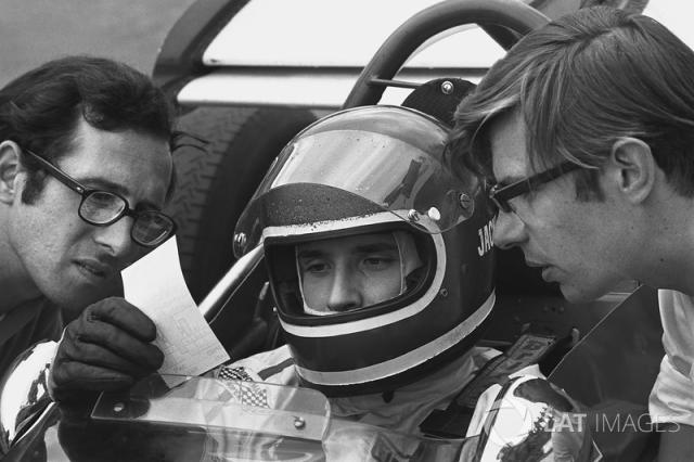 """Mauro Forghieri, Jacky Ickx <span class=""""copyright"""">Motorsport Images</span>"""