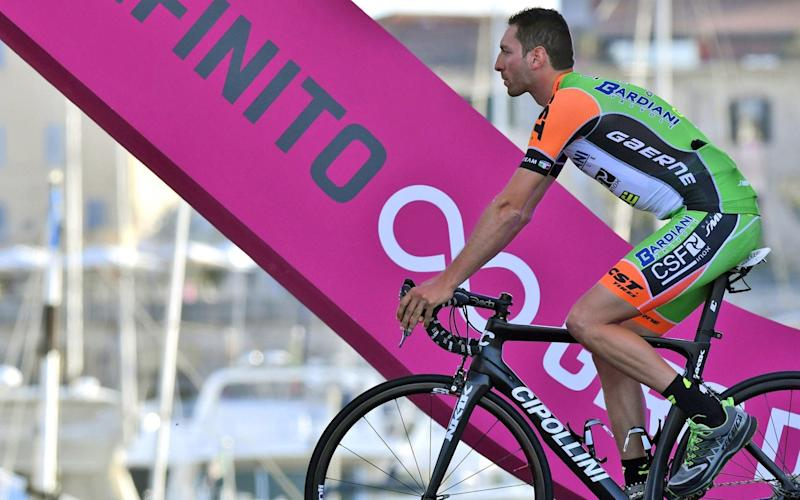 Stefano Pirazzi - Giro d'Italia 2017: Final start list and team details after Stefano Pirazzi and Nicola Ruffoni are suspended for doping violations - Credit: AP