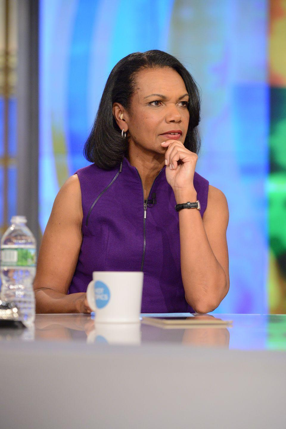 <p><strong>Claim to fame: </strong>Politician, diplomat</p><p><strong>Why she's extraordinary: </strong>Currently the director of Stanford University's Hoover Institution, from 2005 to 2009, Rice held the post of Secretary of State under George W. Bush's presidency. She was the second woman and first Black woman to do so. </p>