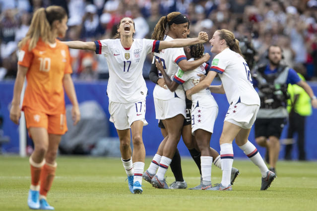 The USWNT won the World Cup, and now is in a fight for equal pay. (Getty)