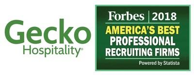 Gecko Hospitality Named to Forbes 2018 List of America's Best Professional Recruiting Firms