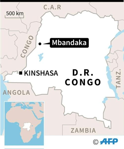 The DR Congo city of Mbandaka, where a new Ebola outbreak has been reported