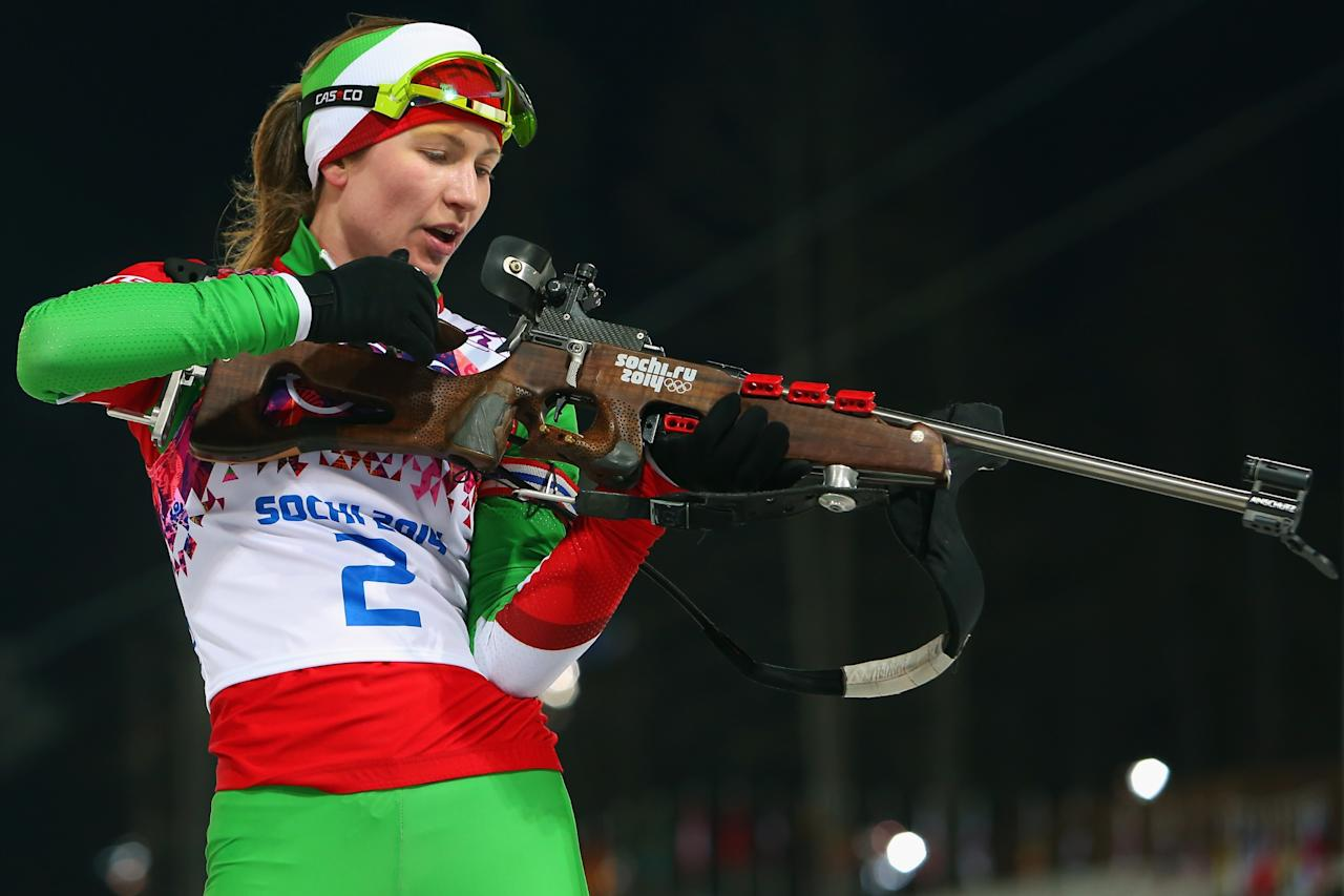 olympic crush darya domracheva belarussian biathlon champion
