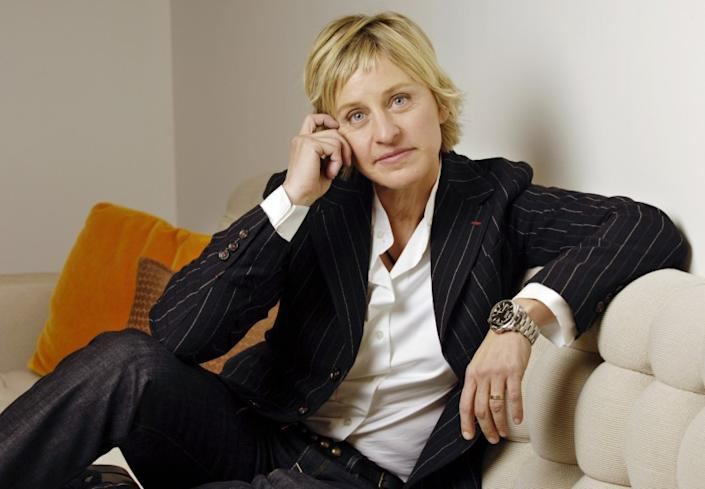 """Elle DeGeneres addressed her staff in a memo. <span class=""""copyright"""">(Chris Pizzello / Invision / AP)</span>"""
