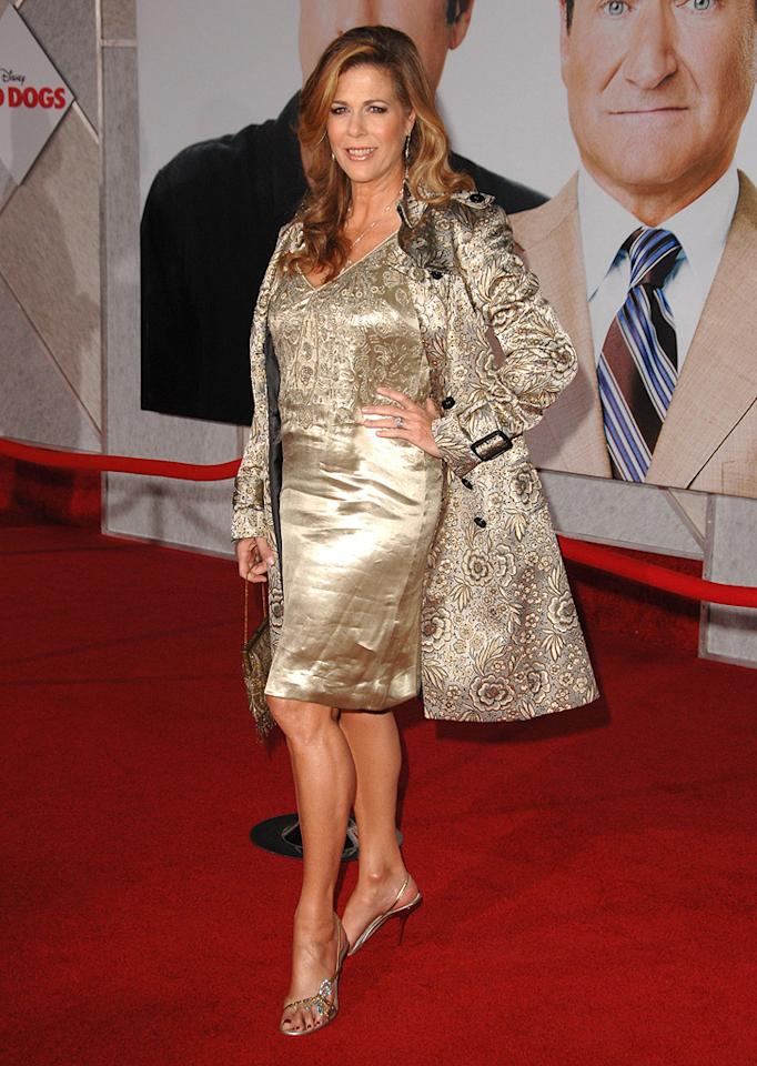 """<a href=""""http://movies.yahoo.com/movie/contributor/1800019302"""">Rita Wilson</a> at the Los Angeles premiere of <a href=""""http://movies.yahoo.com/movie/1809918087/info"""">Old Dogs</a> - 11/09/2009"""