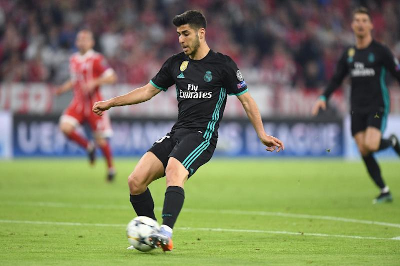 0a38f0650 Marco Asensio scored the winner as Real Madrid moved closer to a third  straight Champions League