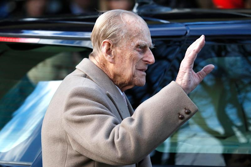 Prince Philip was involved in a car crash last night near Sandringham (AP)