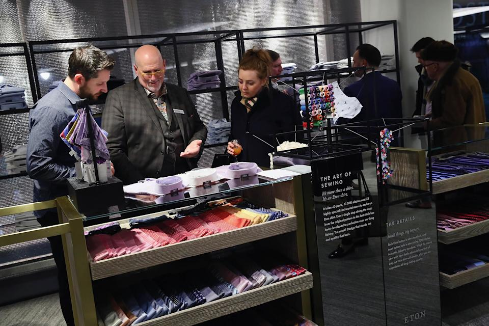 Nordstrom testing a host of new services at its New York City men's store. (Photo by Astrid Stawiarz/Getty Images for Nordstrom)