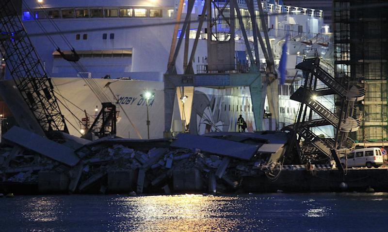 genoa jolly nero control tower crash