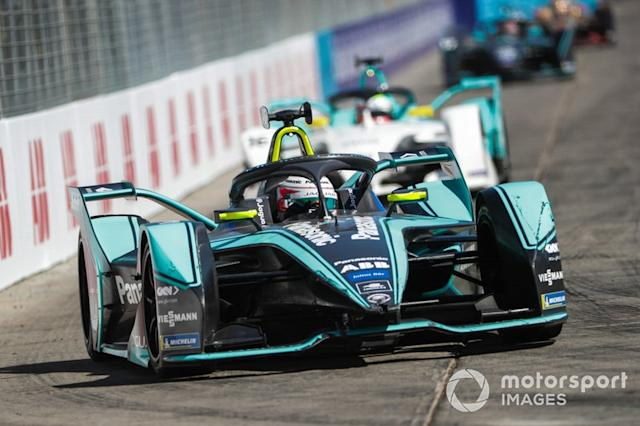 "Nelson Piquet Jr., Jaguar Racing, Jaguar I-Type 3, Oliver Turvey, NIO Formula E Team, NIO Sport 004 <span class=""copyright"">Alastair Staley / Motorsport Images</span>"