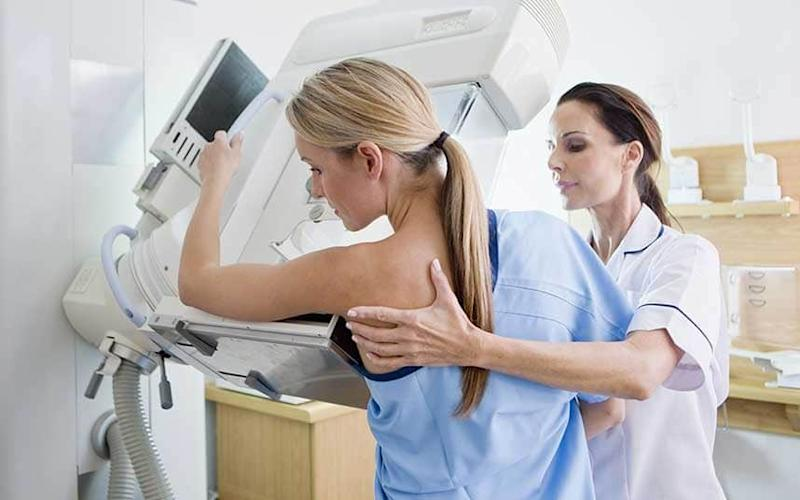 Thousands of breast cancer patients will be given free treatment - Copyright (c) 2015 Rex Features. No use without permission.