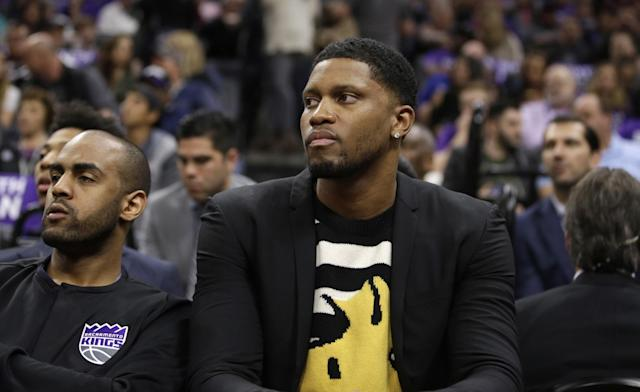 Rudy Gay will play a role in determining the Kings' cap situation. (AP)