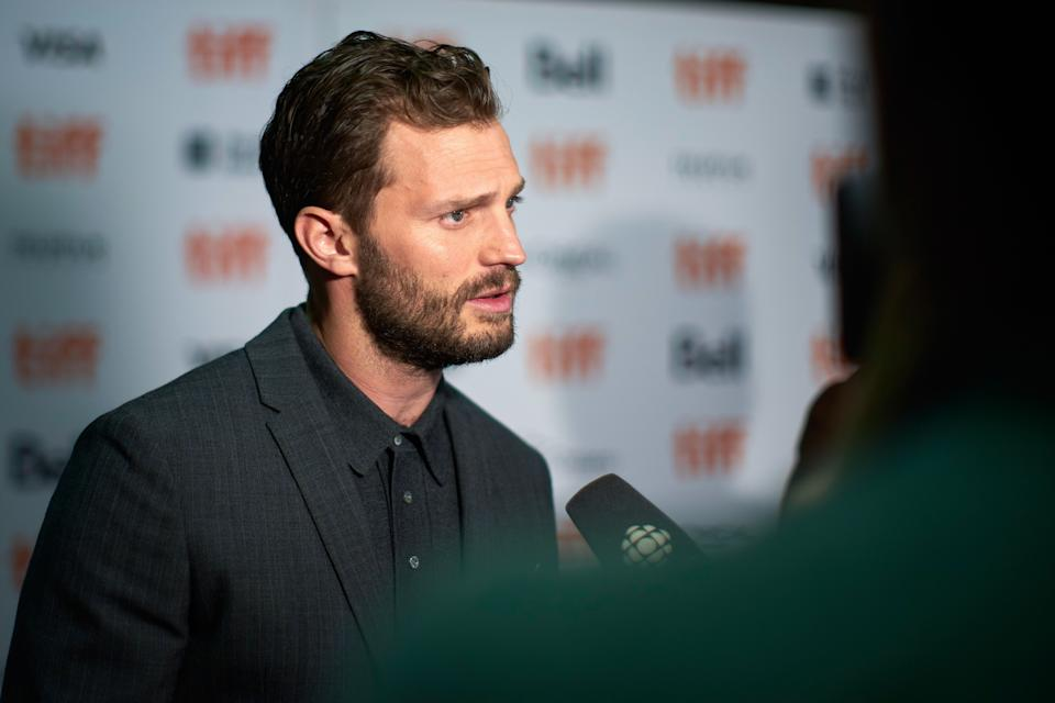 Irish actor Jamie Dornan attends the premiere of