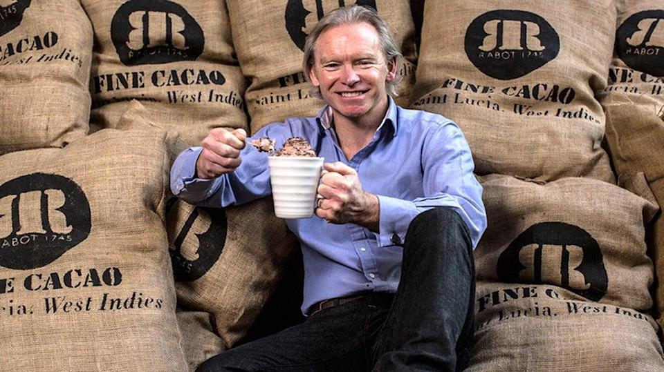 Hotel Chocolat founder Angus Thirlwell is confident about the company's prospects (BBC/PA) (PA Media)
