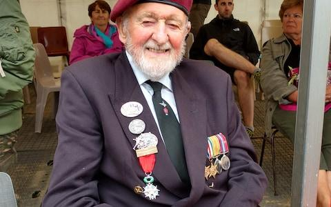<span>Kenneth Lang, 96, was part of the 13th (Lancashire) Parachute Battalion on D-Day</span> <span>Credit: Telegraph </span>