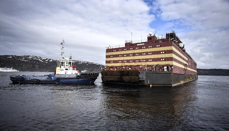 Russia unveils world's first floating nuclear power station thumbnail