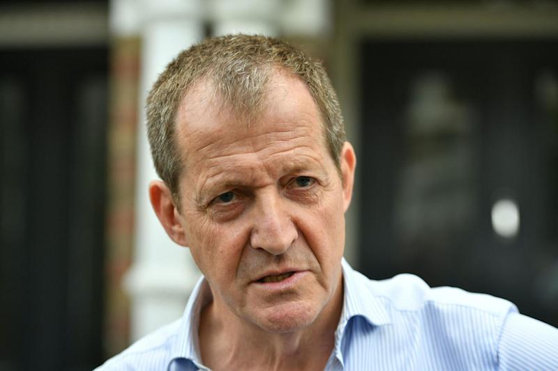 Tony Blair's former spin doctor Alastair Campbell: PA