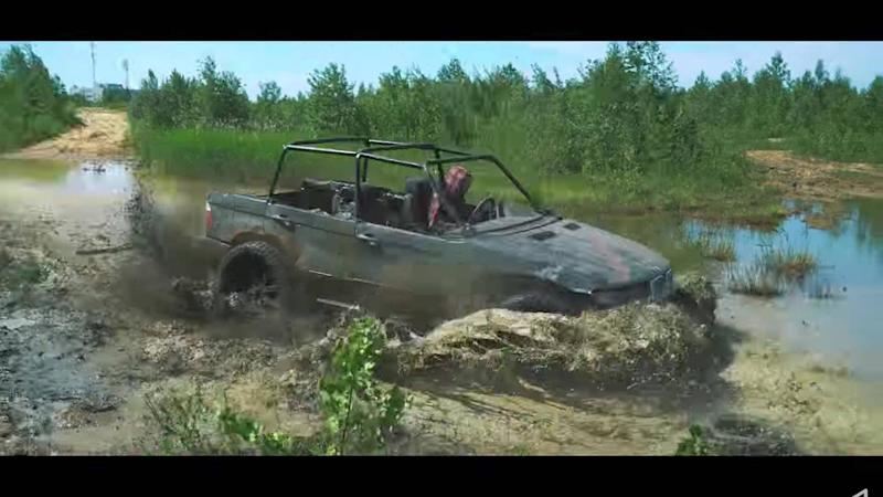 watch how a wrecked bmw x5 becomes an awesome off roader