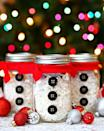 """<p>Rather than wrapping small-sized presents like gift cards and jewelry, why not pop them in Frosty-themed jars for a special, handmade touch instead?</p><p><strong>Get the tutorial at <a href=""""http://blog.consumercrafts.com/seasonal/winter/mason-jar-christmas-craft-snowman/"""" rel=""""nofollow noopener"""" target=""""_blank"""" data-ylk=""""slk:Crafts Unleashed"""" class=""""link rapid-noclick-resp"""">Crafts Unleashed</a>.</strong></p><p><a class=""""link rapid-noclick-resp"""" href=""""https://www.amazon.com/Paper-Shred-Packaging-Activities-Supplies/dp/B08XM4ZXJ5/ref=asc_df_B08XM4ZXJ5/?tag=syn-yahoo-20&ascsubtag=%5Bartid%7C10050.g.2132%5Bsrc%7Cyahoo-us"""" rel=""""nofollow noopener"""" target=""""_blank"""" data-ylk=""""slk:SHOP SHREDDED WHITE PAPER"""">SHOP SHREDDED WHITE PAPER</a></p>"""