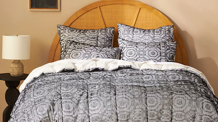 Get quilts, shams, pillows and more on sale this weekend.