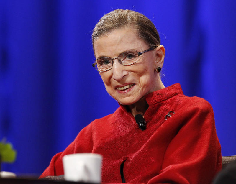 Justice Ginsburg Doubtful America Is Becoming Great Again
