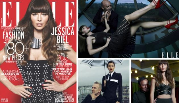 Jessica Biel in ELLE magazine -- Thomas Whiteside/ELLE