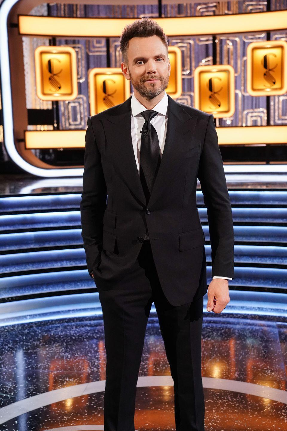 <p>Joel McHale, an actor and comedian, is the host of the 2019 primetime reboot. <em>Card Sharks </em>was renewed for a second season. Before <em>Card Sharks, </em>McHale hosted <em>The Soup </em>on E! for 11 years. He also starred in the sitcom <em>Community. </em>In 2018, McHale hosted his own half-hour talk show on Netflix.</p>