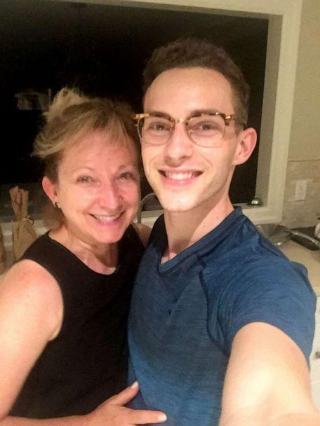 PHOTO: Kelly Rippon and Adam Rippon appear in a undated selfie. (Courtesy of Kelly Rippon)