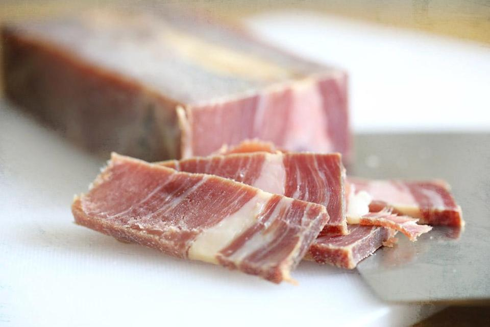 Jinhua ham is the secret ingredient that gives a superior stock its intense flavour, both salty and sweet.