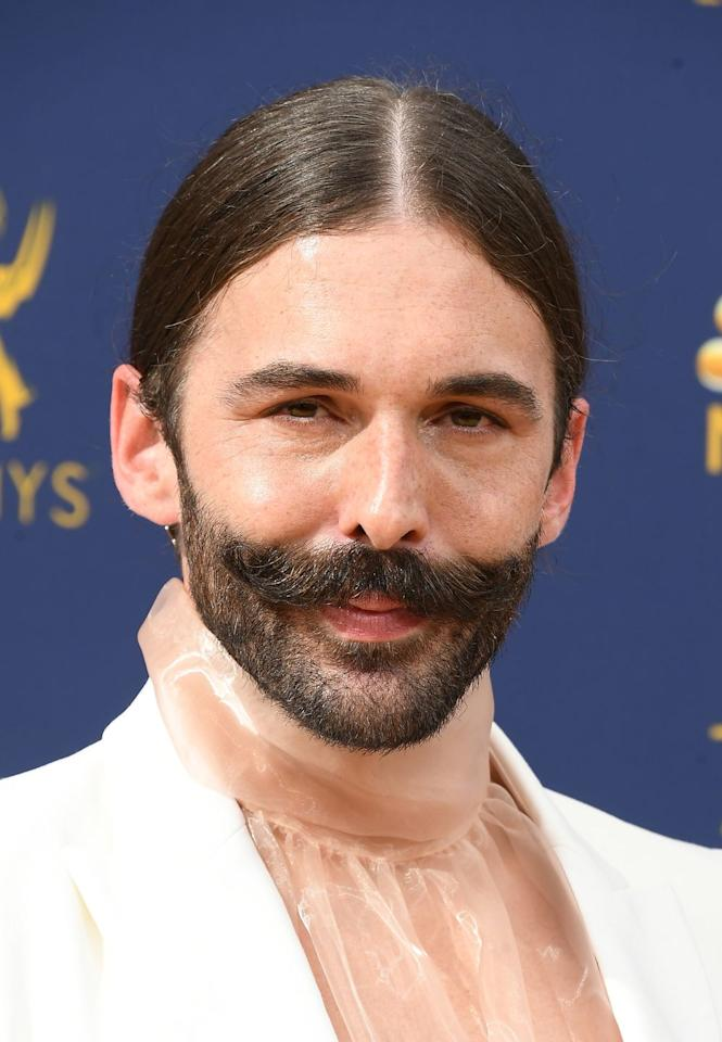 """<p>Fellow psoriasis sufferers applauded the <em>Queer Eye </em>star after he posted <a href=""""https://www.instagram.com/p/BgCQMQeBCbH/?utm_source=ig_embed"""" target=""""_blank"""">an unretouched photo on Instagram</a> embracing his condition last year. """"I was going to start FaceTuning the spots out, but then I was like, 'No, I'm just gonna post it,"""" he later told <a href=""""https://www.allure.com/story/jonathan-van-ness-interview-psoriasis-self-acceptance"""" target=""""_blank""""><em>Allure</em></a>. """"Your body is fierce, it's cute, it's fine, and the more people that know about psoriasis, the more you'll stop having to tell cute guys about it when you take your top off.""""</p><p><strong>RELATED:</strong> <a href=""""https://www.goodhousekeeping.com/beauty/anti-aging/a24739095/jonathan-van-ness-self-care/"""" target=""""_blank"""">Jonathan Van Ness Shares His Top Self-Care Picks Under $20</a></p>"""