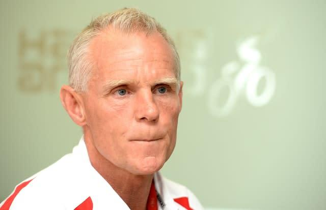 Shane Sutton walked out of the tribunal last month (Martin Rickett/PA).