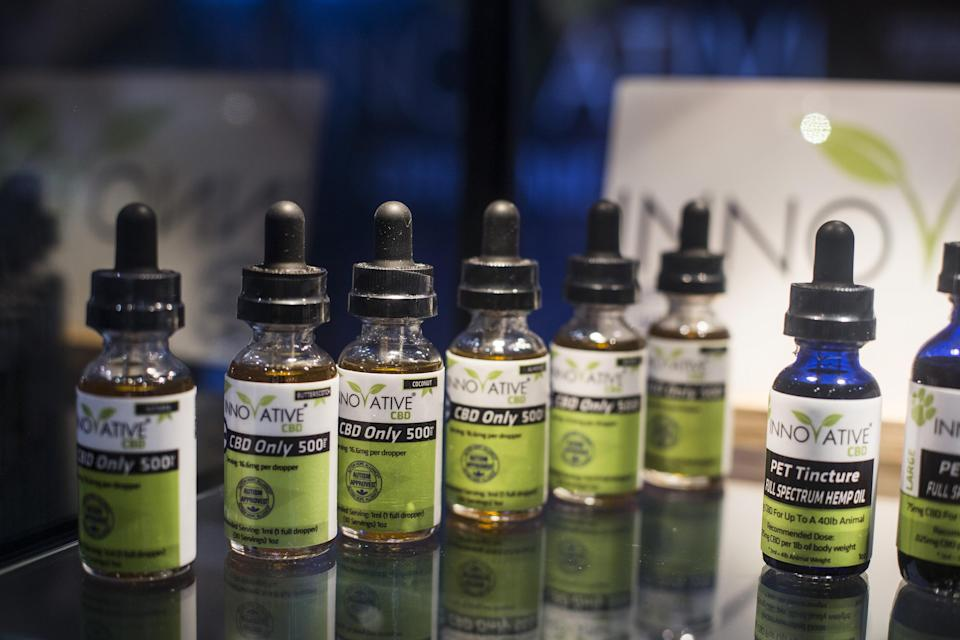 Overall cannabidiol sales are estimated to grow from $591 million in 2018 to $22 billion by 2022. (Photo: Dania Maxwell/Bloomberg via Getty Images)
