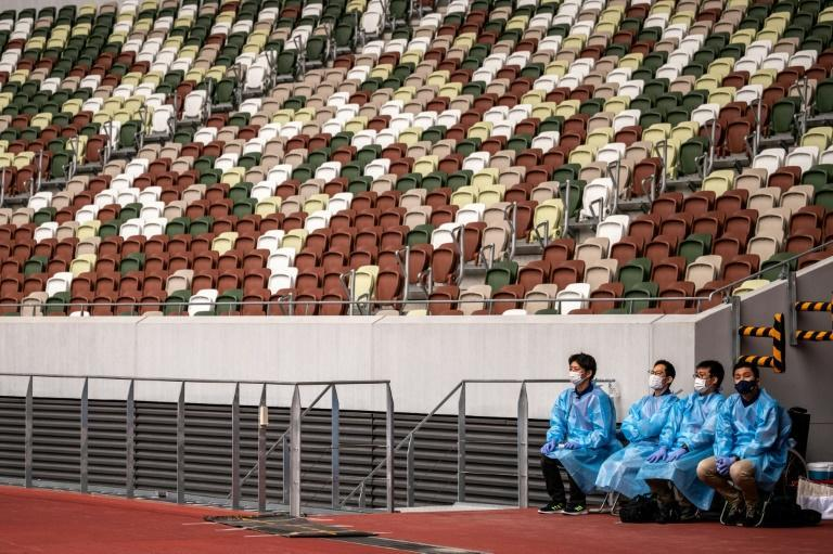 Olympic organisers have yet to settle on how many domestic fans can attend the postponed Games