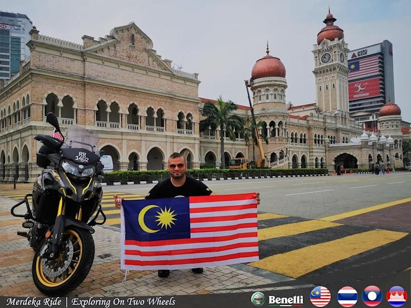 The historical Sultan Abdul Samad building in Kuala Lumpur was the flag-off point.