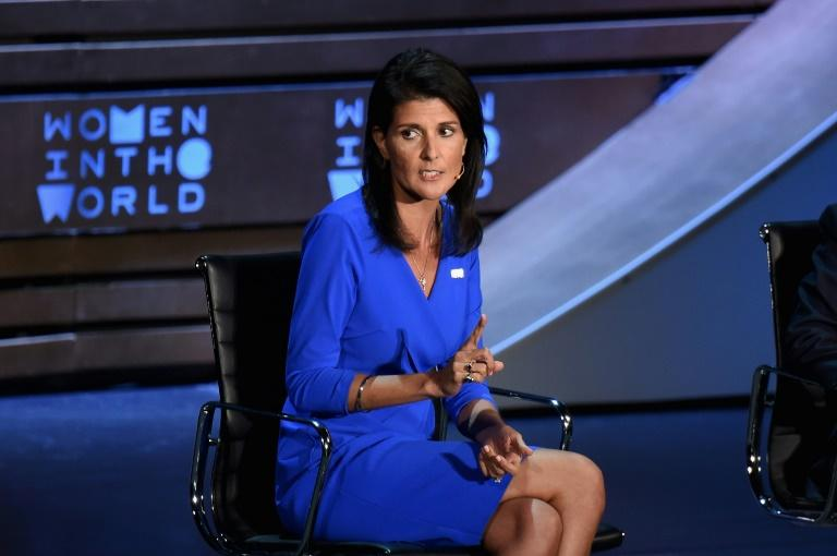 Nikki Haley Says Trump Has Strengthened the Military, Crowd Boos