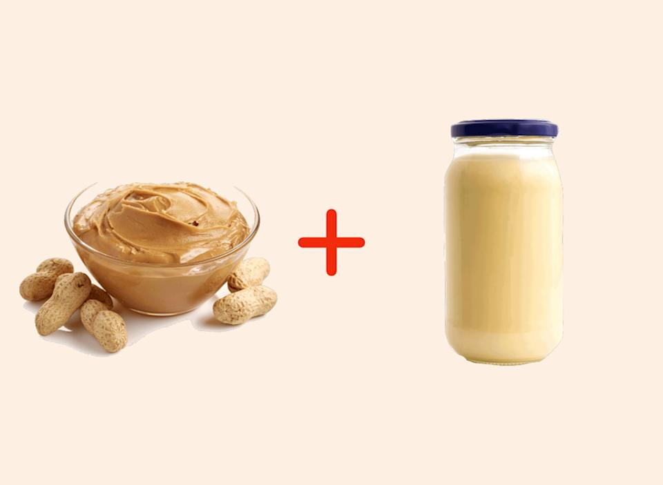 peanut butter with mayo amazing food pairings