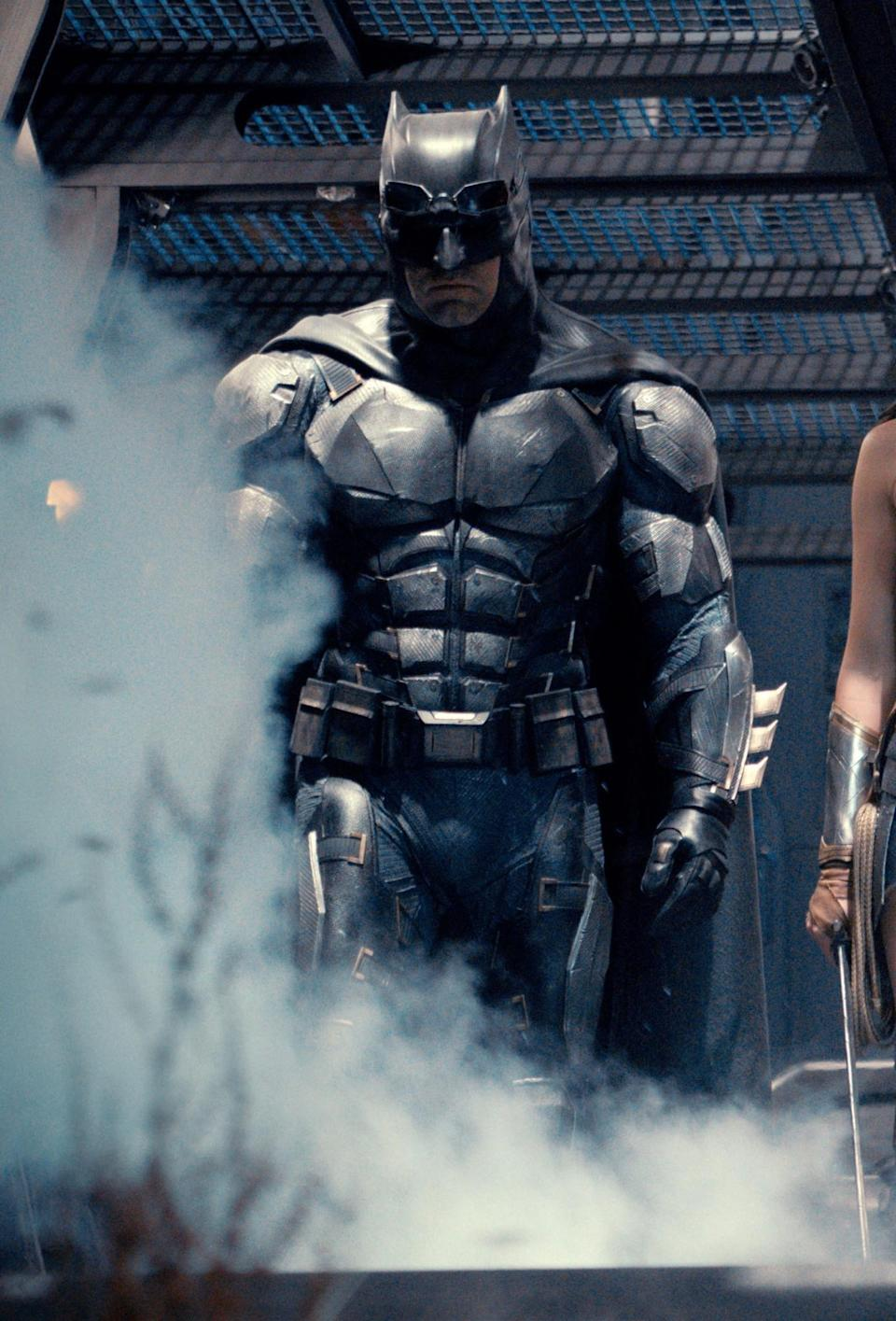 A closer look at Batman in 'Justice League' (Warner Bros.)