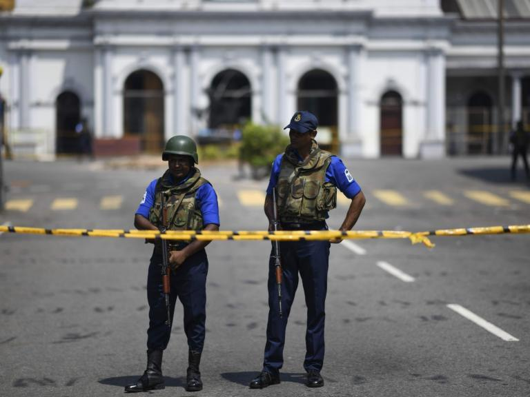 Sri Lanka suicide bomber was educated in UK, authorities reveal
