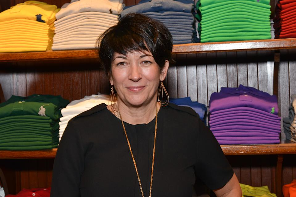 NEW YORK, NY - NOVEMBER 3: Ghislaine Maxwell attends Polo Ralph Lauren host Victories of Athlete Ally at Polo Ralph Lauren Store on November 3, 2015 in New York City. (Photo by Jared Siskin/Patrick McMullan via Getty Images)
