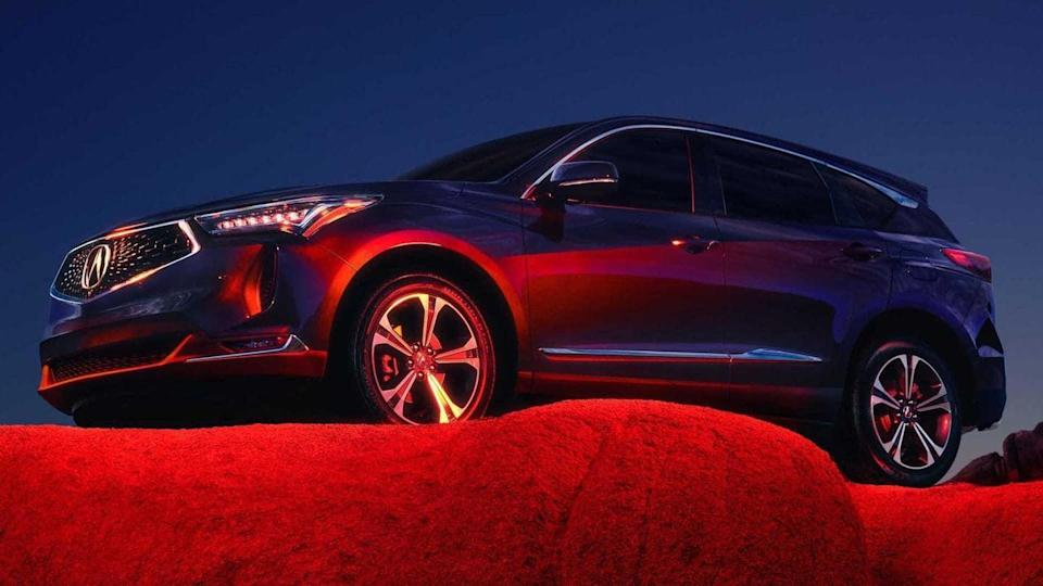 2022 Acura RDX compact SUV, with sporty looks, breaks cover