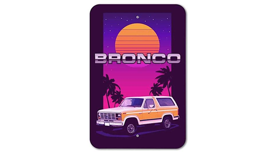 "<p>Garages need Bronco love, too. You already saw the third-generation '82 Bronco hoodie, and here's a matching sign to go with it. Available in sizes up to 12"" x 18"", it's made of plastic and brings back the 1980s in fantastic neon pink glory.</p>   <ul><li><a href=""https://www.motor1.com/news/431995/watch-2021-ford-bronco-debut-july-13/?utm_campaign=yahoo-feed"" rel=""nofollow noopener"" target=""_blank"" data-ylk=""slk:How To Watch The 2021 Ford Bronco Debut On July 13"" class=""link rapid-noclick-resp"">How To Watch The 2021 Ford Bronco Debut On July 13</a></li><br><li><a href=""https://www.motor1.com/news/432769/2021-ford-bronco-spy-shots-interior/?utm_campaign=yahoo-feed"" rel=""nofollow noopener"" target=""_blank"" data-ylk=""slk:2021 Ford Bronco Spy Shots Reveal Off-Roader's Interior"" class=""link rapid-noclick-resp"">2021 Ford Bronco Spy Shots Reveal Off-Roader's Interior</a></li><br></ul>"