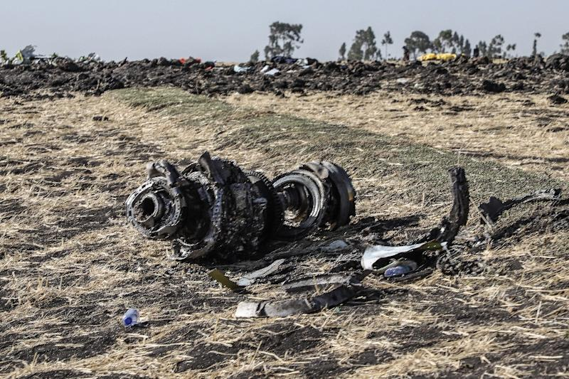 Investigators say the crew of the crashed Ethiopian Airlines plane repeatedly followed procedures recommended by Boeing, but were unable to regain control of the jet (AFP Photo/Michael TEWELDE)